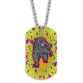 Full Color Panther Dog Tag