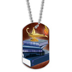 Full Color Scholastic Dog Tag