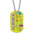 Full Color Science Dog Tag