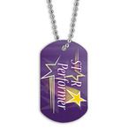 Full Color Star Performer Dog Tag