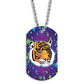 Full Color Tiger Dog Tag