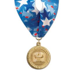 MC School Award Medal w/ Millennium Neck Ribbon