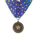 MX School Award Medal w/ Millennium Neck Ribbon