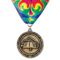 LX School Award Medal w/ Millennium Neck Ribbon