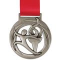 Atlas School Award Medal w/ Satin Neck Ribbon