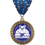 GFL School Award Medal w/ Millennium Neck Ribbon