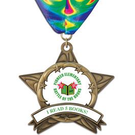 AS14 All Star School Award Medal w/ Millennium Neck Ribbon