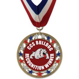 RSG School Award Medal w/ Millennium Neck Ribbon