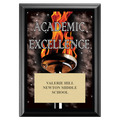 Academic Excellence Award Plaque - Black