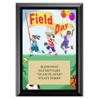 Field Day Award Plaque - Black