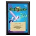 Science Award Plaque - Black