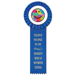 Little Rose School Rosette Award Ribbon