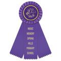 Mere School Rosette Award Ribbon