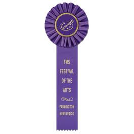 Ideal 1 School Rosette Award Ribbon