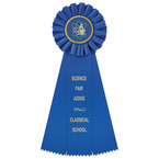 Ideal School Rosette Award Ribbon