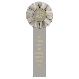Empire 1 School Rosette Award Ribbon