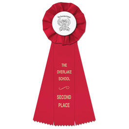 Empire School Rosette Award Ribbon
