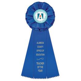 Carlisle School Rosette Award Ribbon
