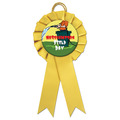 Littleton School Rosette Award Ribbon - Custom
