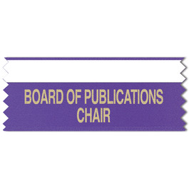 Horizontal Tape Top Award Ribbon