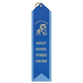 2 Layered Point Top Award Ribbon