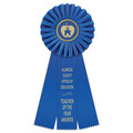 Clare School Rosette Award Ribbon