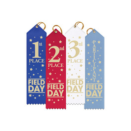Stock Field Day Place Point Top Award Ribbon