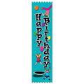 Stock Happy Birthday Ribbons