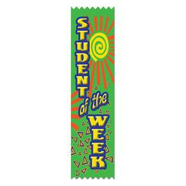 Student of the Week School Award Ribbon