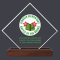 Diamond Acrylic School Award Trophy
