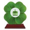 Birchwood Clover School Award Trophy w/ Rosewood Base