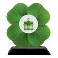 Birchwood Clover School Award Trophy w/ Black Base