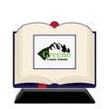 Birchwood Open Book School Award Trophy w/ Black Base