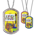 Full Color GEM Art Dog Tag