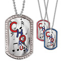 Full Color GEM Chorus Dog Tag