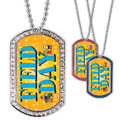 Full Color GEM Field Day Dog Tag