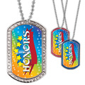 Full Color GEM Honors Dog Tag