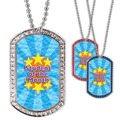 Full Color GEM Student of the Month Dog Tag