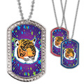 Full Color GEM Tiger Dog Tag