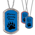 Custom School GEM Dog Tags