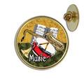 Music Lapel Pin