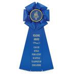 Beauty School Rosette Award Ribbon