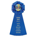 Beauty School Rosette Award Ribbon