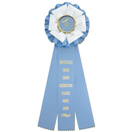 Shetland Rosette Award Ribbon