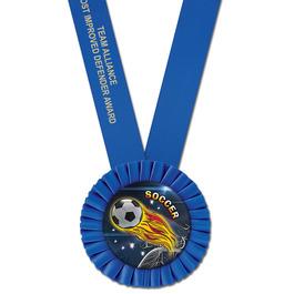 Olympian Soccer Award Sash
