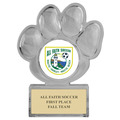 Paw Print Acrylic Sports Award Trophy