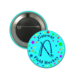 "2-1/4"" Button w/ Pin"