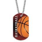 Full Color Basketball Dog Tags