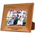 Red Alder Engraved Wooden Sports Award Frame