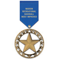 RS Sports Award Medal w/ Satin Drape